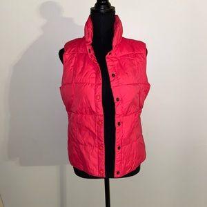 Land's End pink vest
